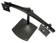 Ergotron DS100 Tischstandfuß für zwei Monitore horizontal