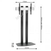 LCD LED TV Standfuß für Displays bis 65 Zoll 150 cm