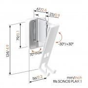 Vogels SOUND 4201 Wandhalter für Sonos PLAY:1