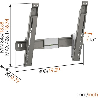 Vogels THIN 215 Ultra flacher LED TV Wandhalter