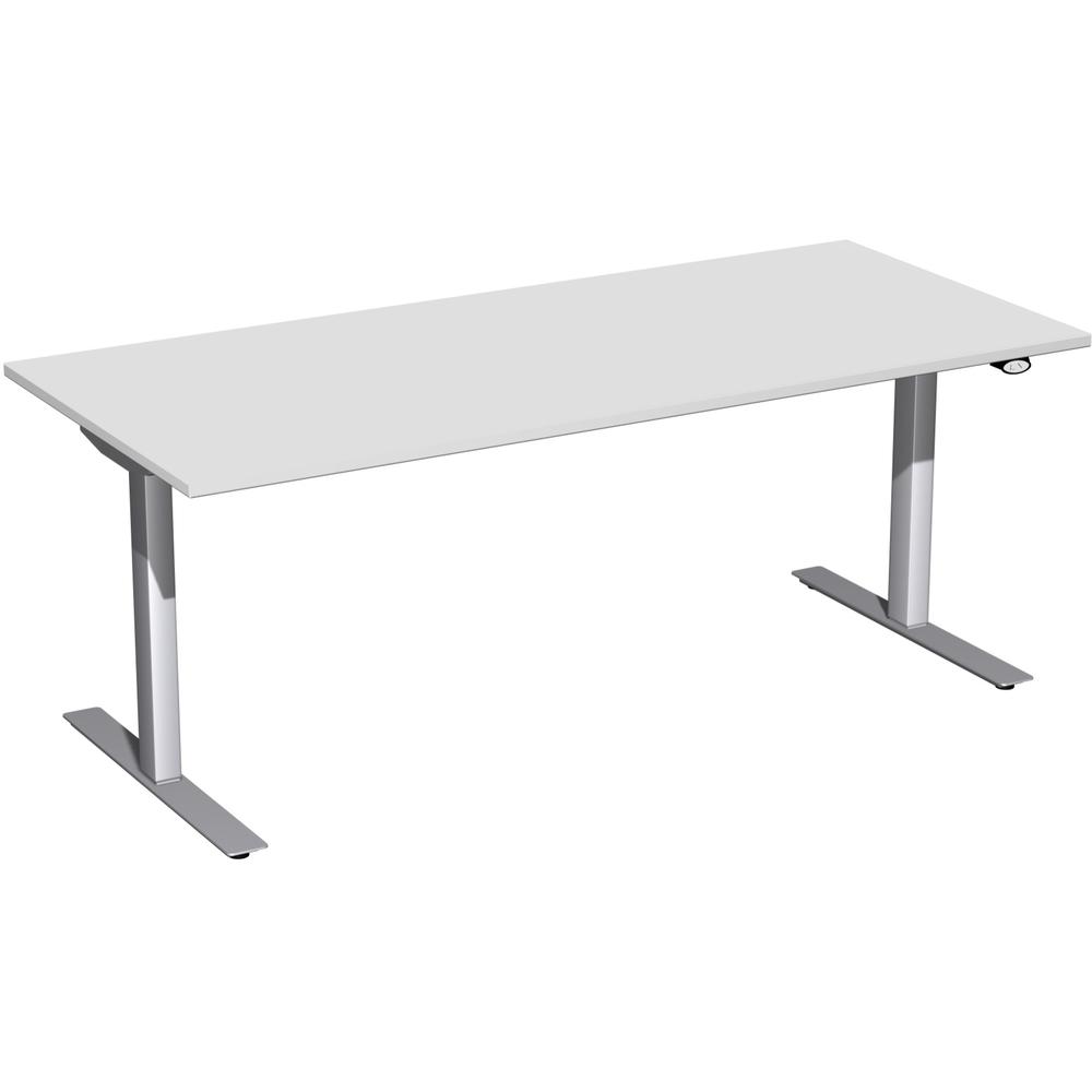 Elektrisch h henverstellbarer schreibtisch elektro flex for Schreibtisch breite