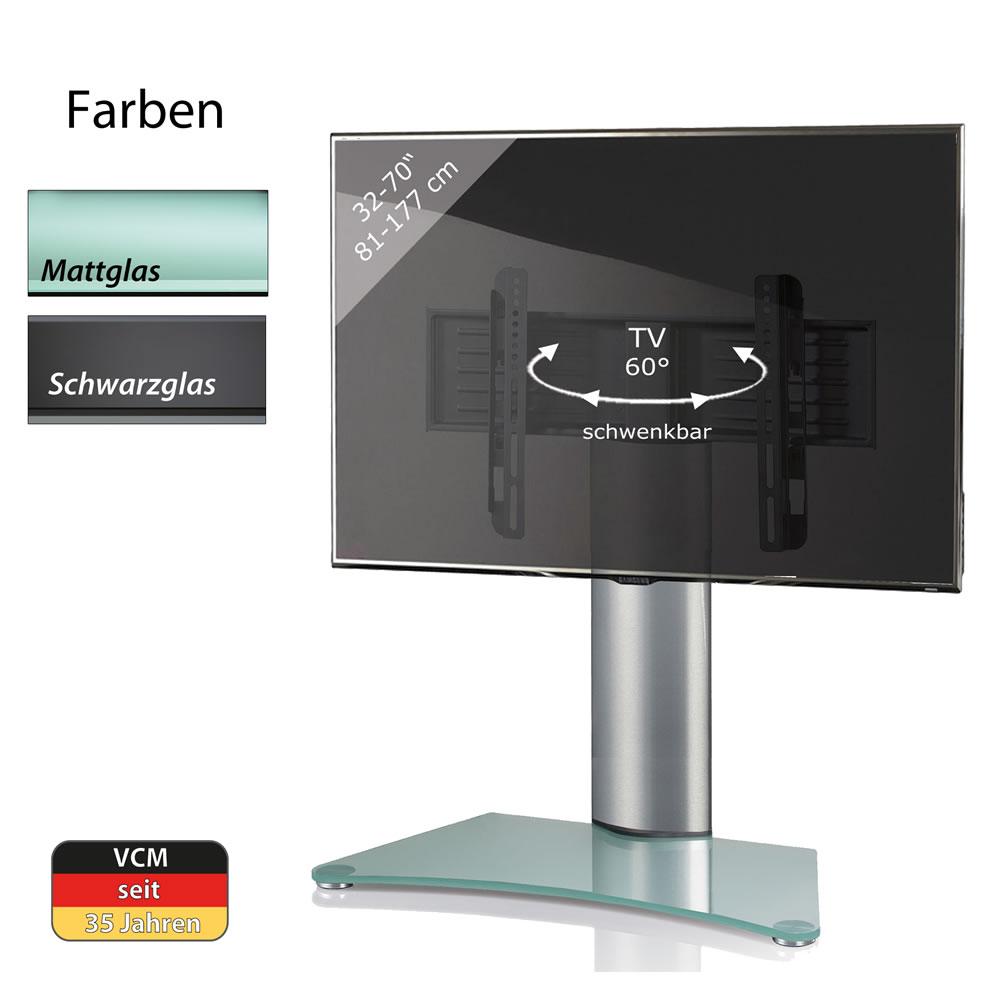 vcm windoxa maxi tisch standfu f r monitore von 32 70 zoll windoxa maxi. Black Bedroom Furniture Sets. Home Design Ideas