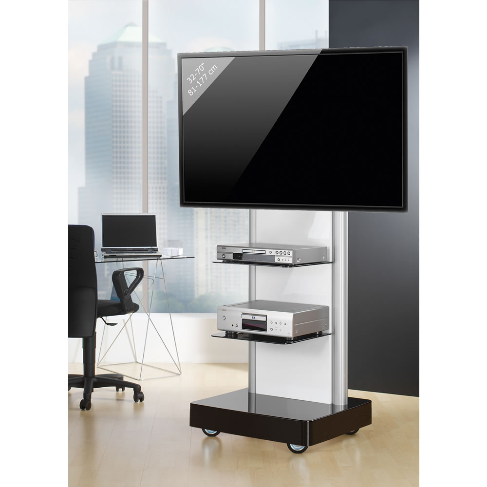 tv rollwagen f r lcd led monitore bis 70 zoll vcm prostand prostand. Black Bedroom Furniture Sets. Home Design Ideas