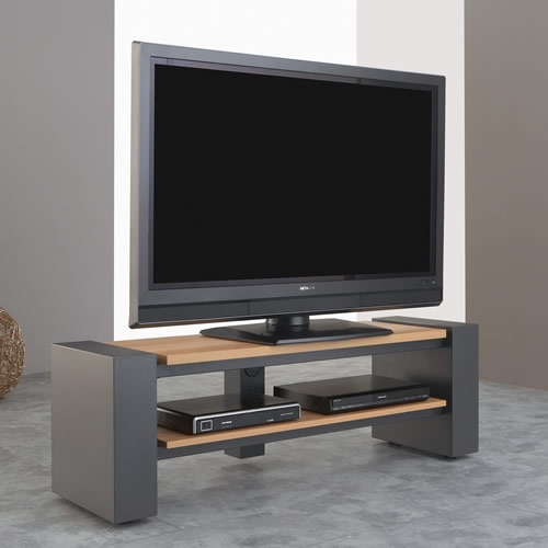schnepel x linie tv rack breite 140 cm offen beton optik. Black Bedroom Furniture Sets. Home Design Ideas