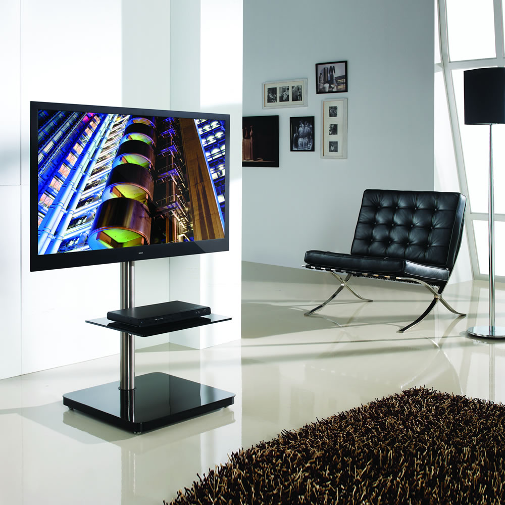 btf800 tv standfu f r monitore bis 60 zoll. Black Bedroom Furniture Sets. Home Design Ideas