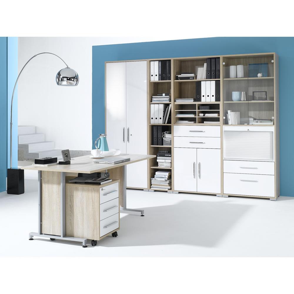 b ro system set 1201 mit rollcontainer. Black Bedroom Furniture Sets. Home Design Ideas
