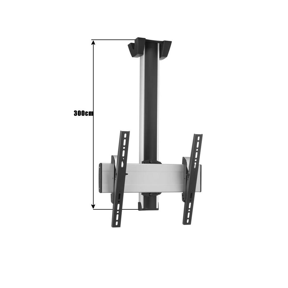 vogels deckenhalter ct3044 mit 300cm rohrl nge f r. Black Bedroom Furniture Sets. Home Design Ideas