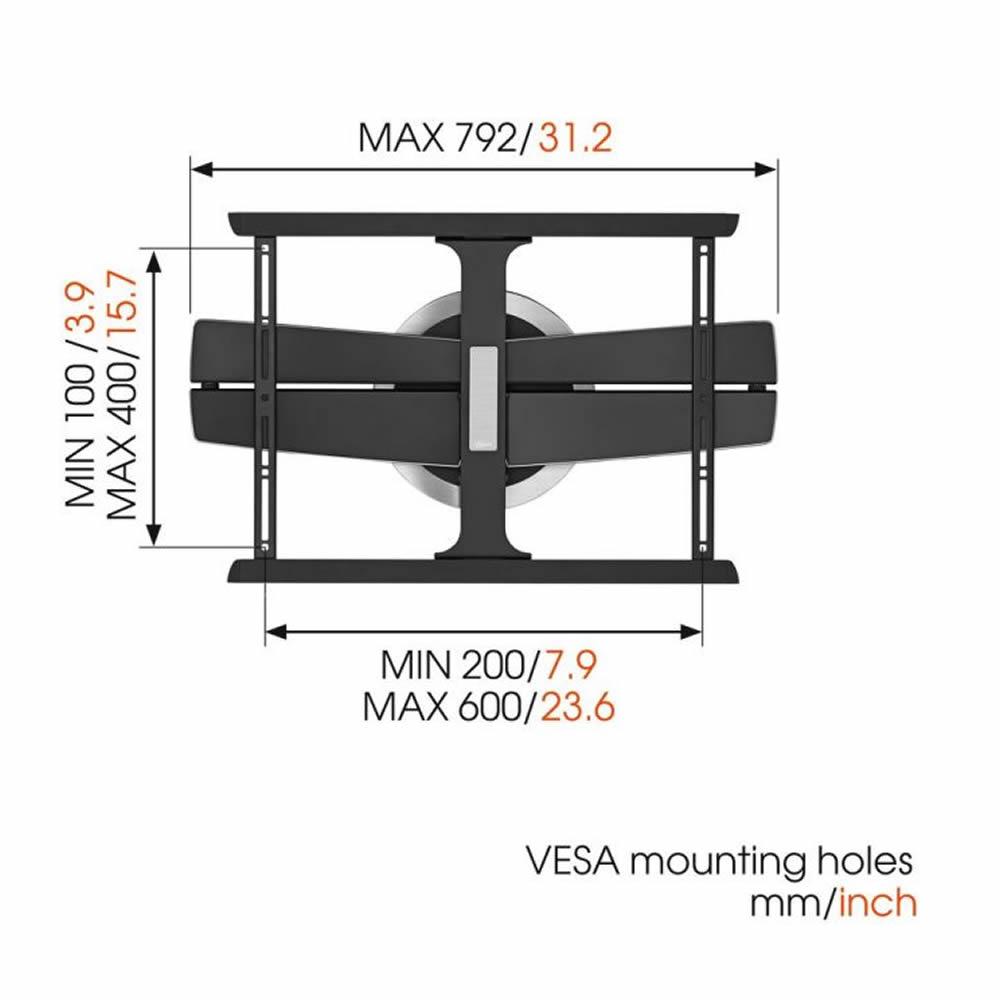 vogels motionmount next 7355 motorisierte tv wandhalterung - Motorisierte Tvhalterung