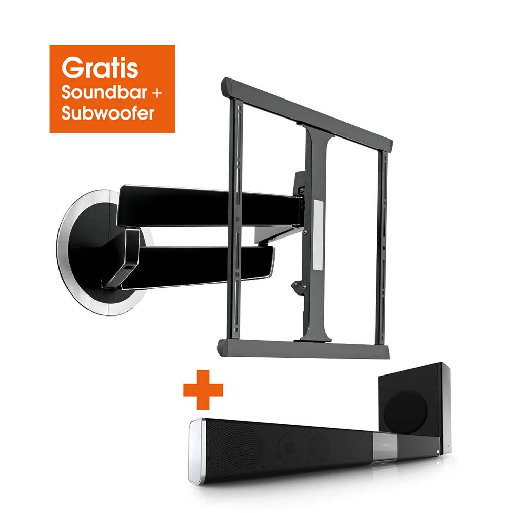 vogels next 7345 design tv wandhalterung f r 40 bis 65 zoll next7345. Black Bedroom Furniture Sets. Home Design Ideas