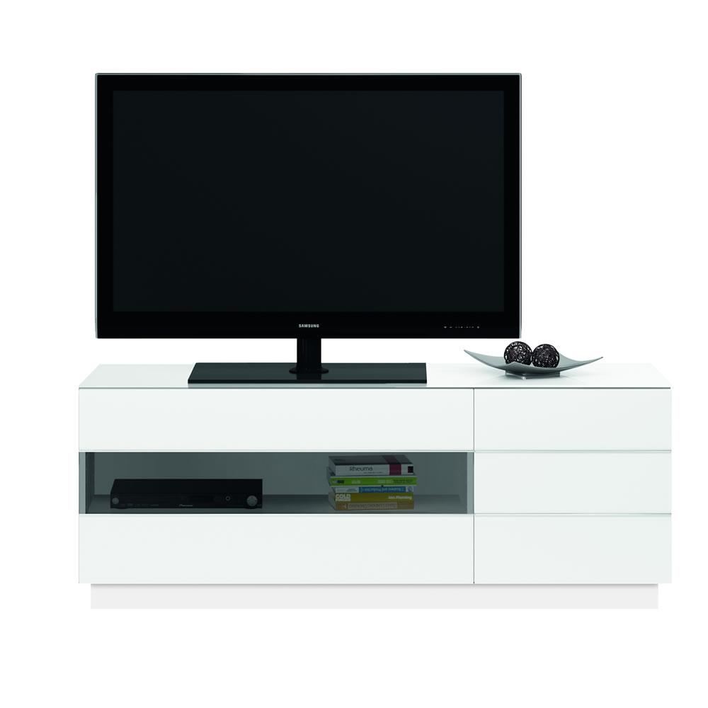 jahnke tl 6153 plasma lcd led tv rack hochglanz weiss 87e180. Black Bedroom Furniture Sets. Home Design Ideas