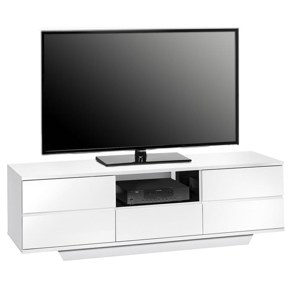 tv lowboard rack 7706 mit push to open t ren. Black Bedroom Furniture Sets. Home Design Ideas