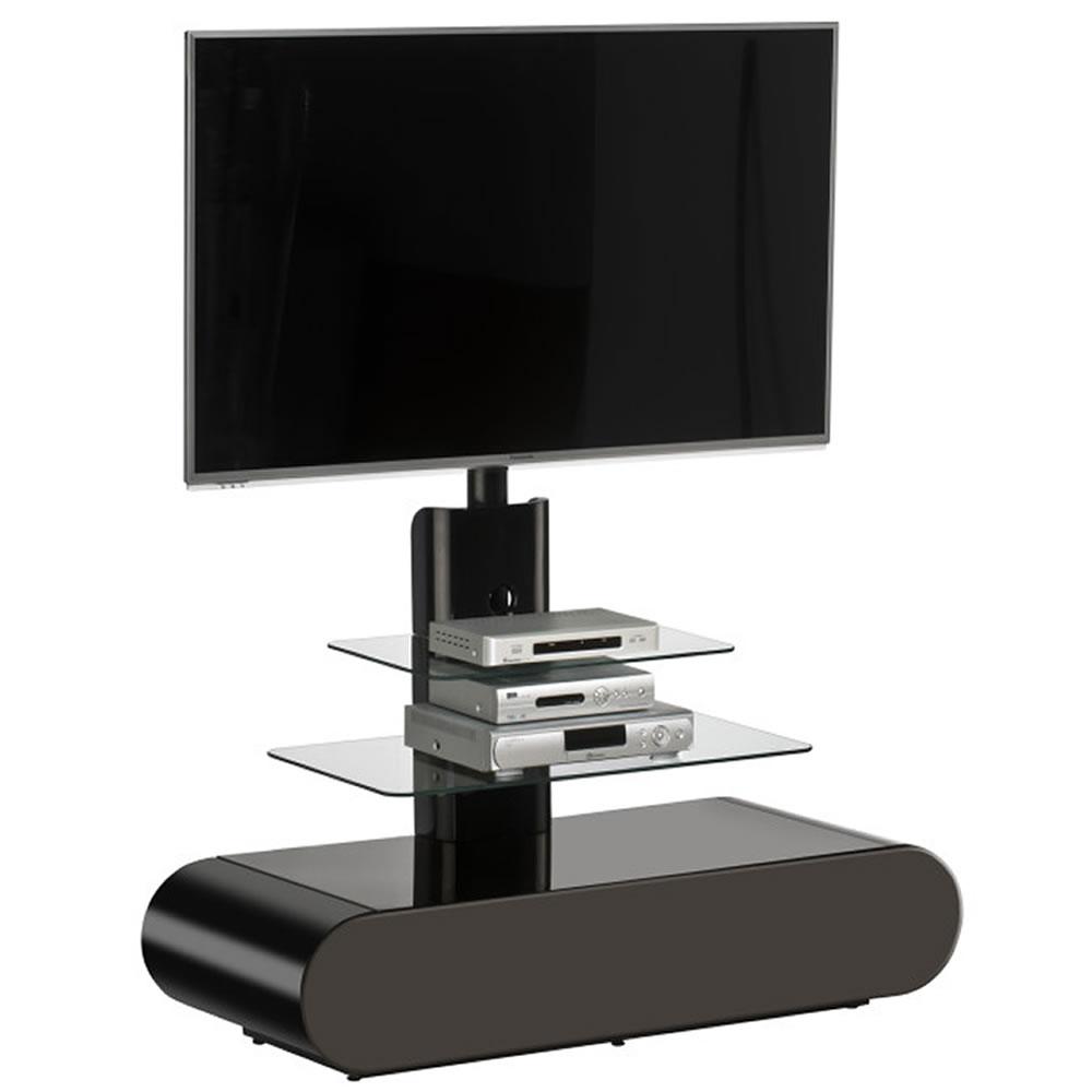 tv standfu 1635 f r monitore bis 60 zoll mit gerundeten design. Black Bedroom Furniture Sets. Home Design Ideas