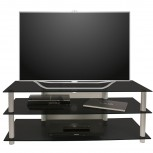 VCM LCD LED TV Rack Netasa Schwarzglas