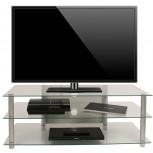 VCM LCD LED TV Rack Zumbo 110 Klarglas