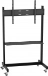 VCM TV-Standfuss H-Stand Mobil Schwarz