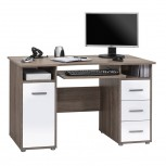 Schreib- und Computertisch 4029 mit Kontur-Oberboden