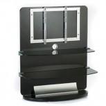 Designer LCD LED Plasma Glas TV Rack für Monitore bis 50 Zoll