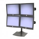 Ergotron DS100 Tischstandfuß für vier Monitore