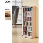 CD DVD Schrank VCM Classic Buche