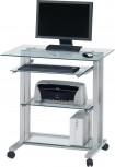 Jahnke Büroschreibtisch Cuuba PC R 12, Glas